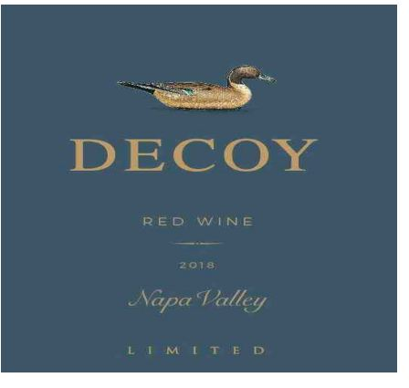 Decoy Limited Red Wine Napa Valley