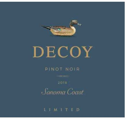 Decoy Pinot Noir Limited Sonoma Coast