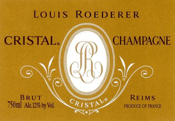Louis Roederer Champagne Brut Cristal