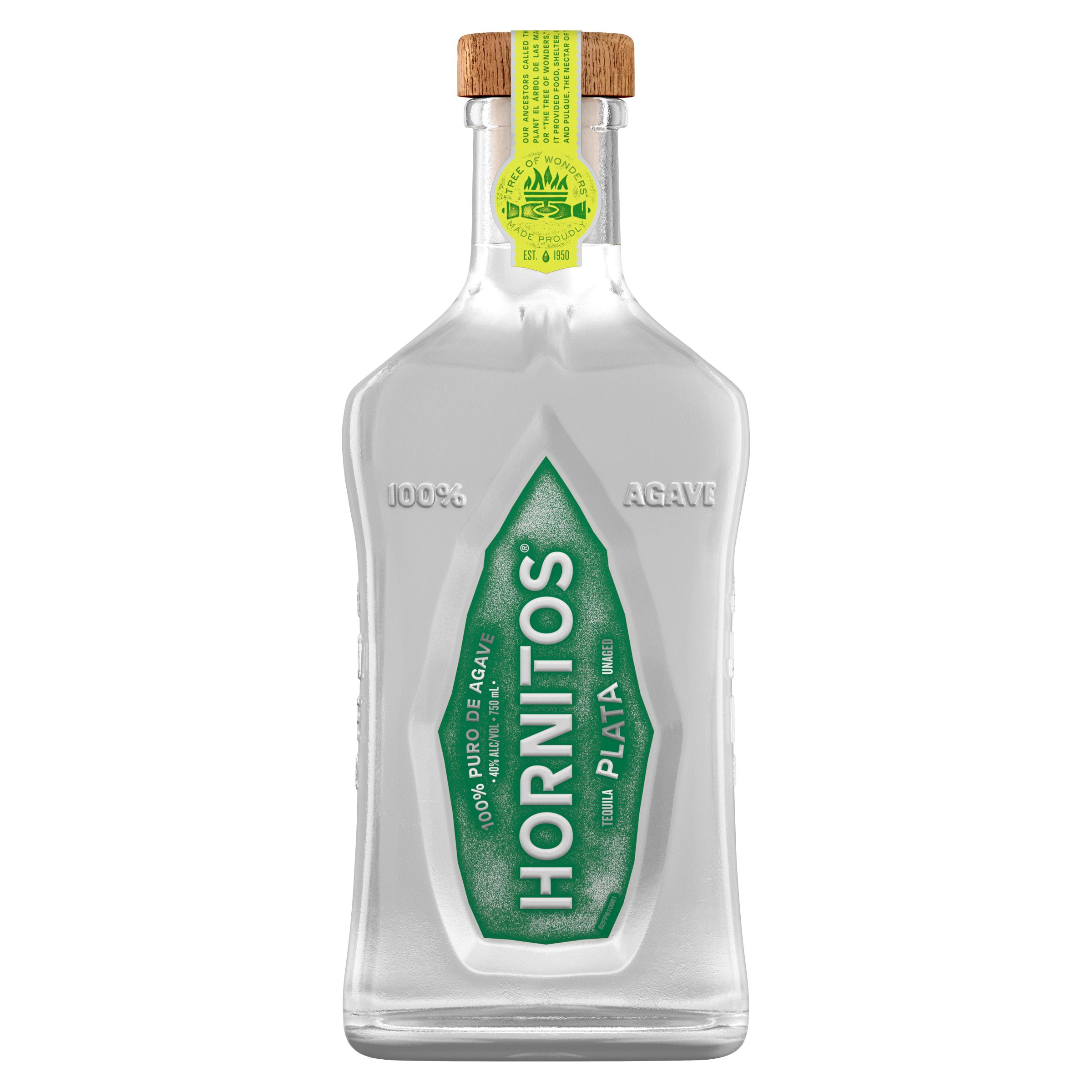 Hornitos Tequila Plata Tequila 100% de Agave
