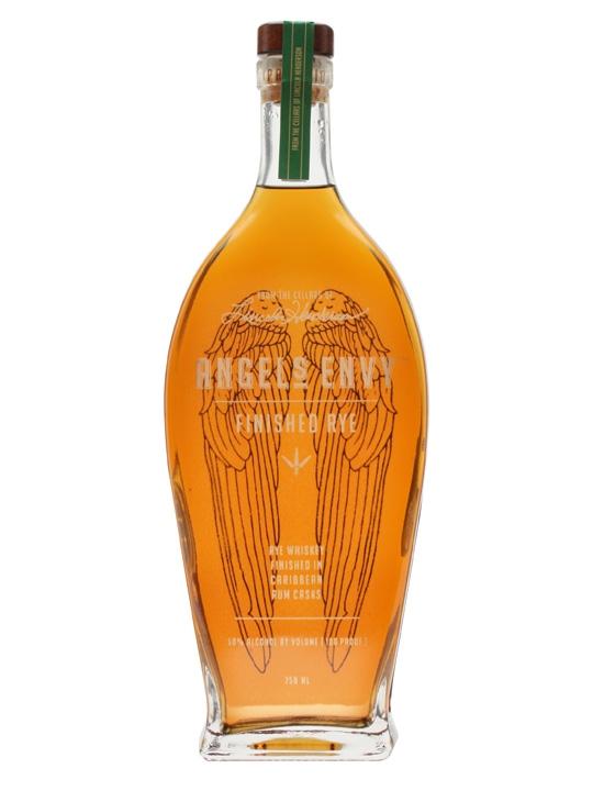 Angel's Envy Rye Whiskey Finished In Caribbean Rum Casks