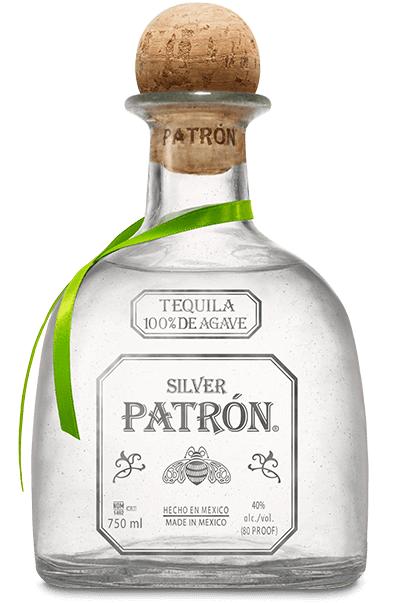 Patrón Silver Tequila 100% de Agave