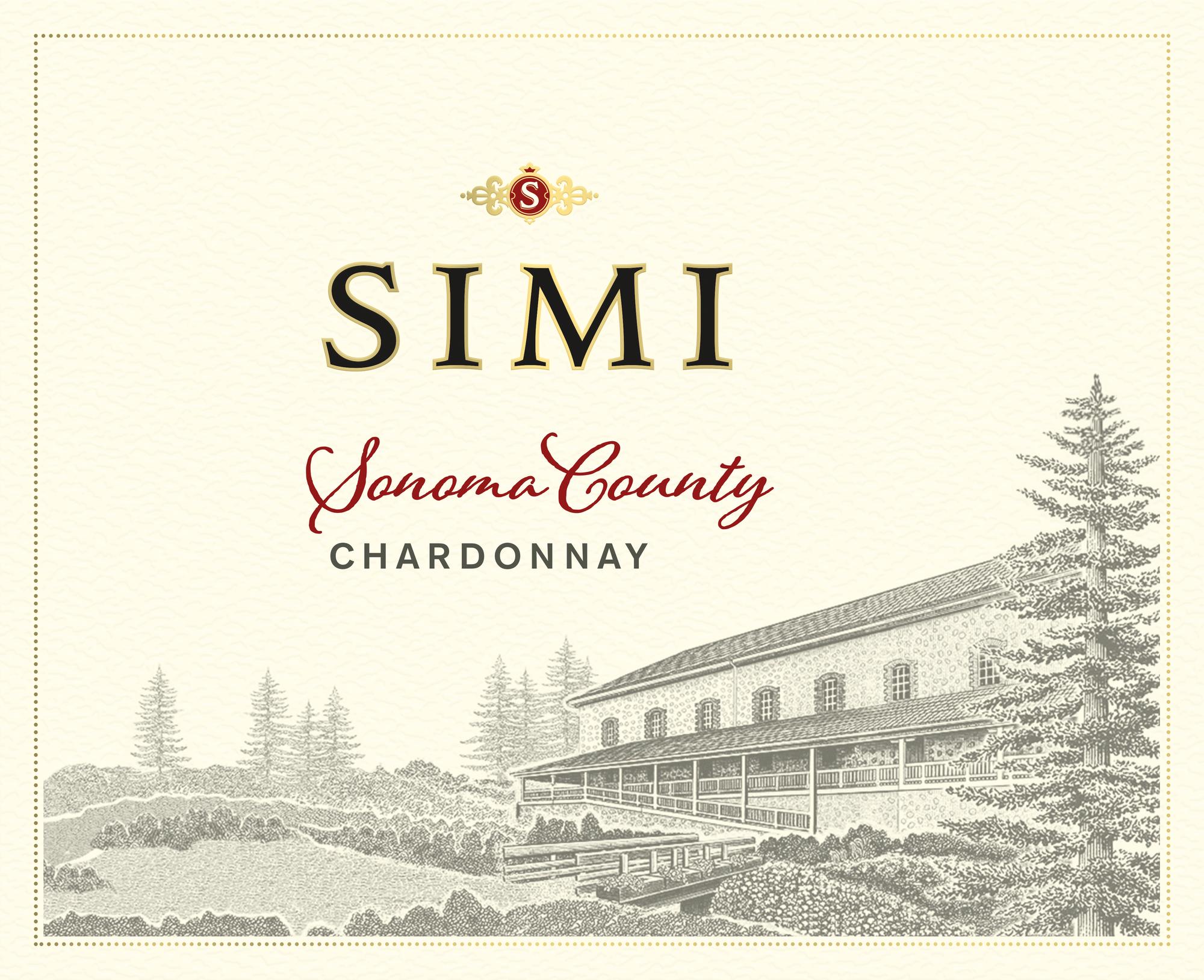 Simi Winery Chardonnay Sonoma County