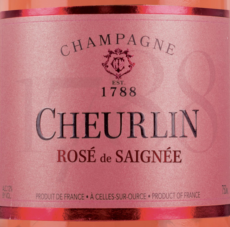 Cheurlin Champagne Champagne Rosé De Saignée