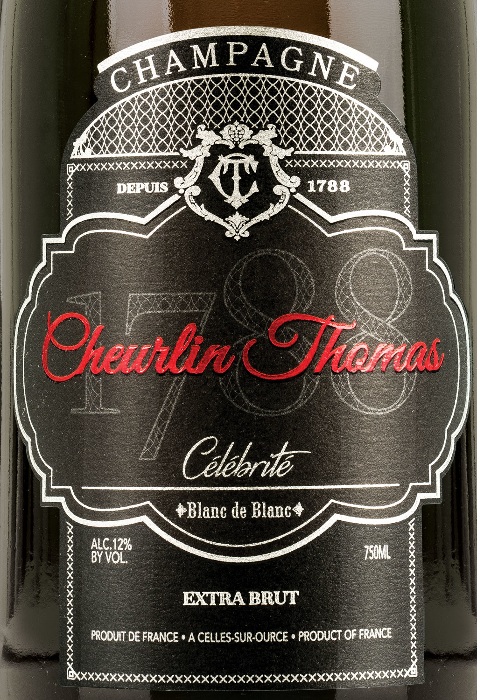 Cheurlin Champagne Champagne Extra Brut Blanc de Blancs Thomas Celebrite