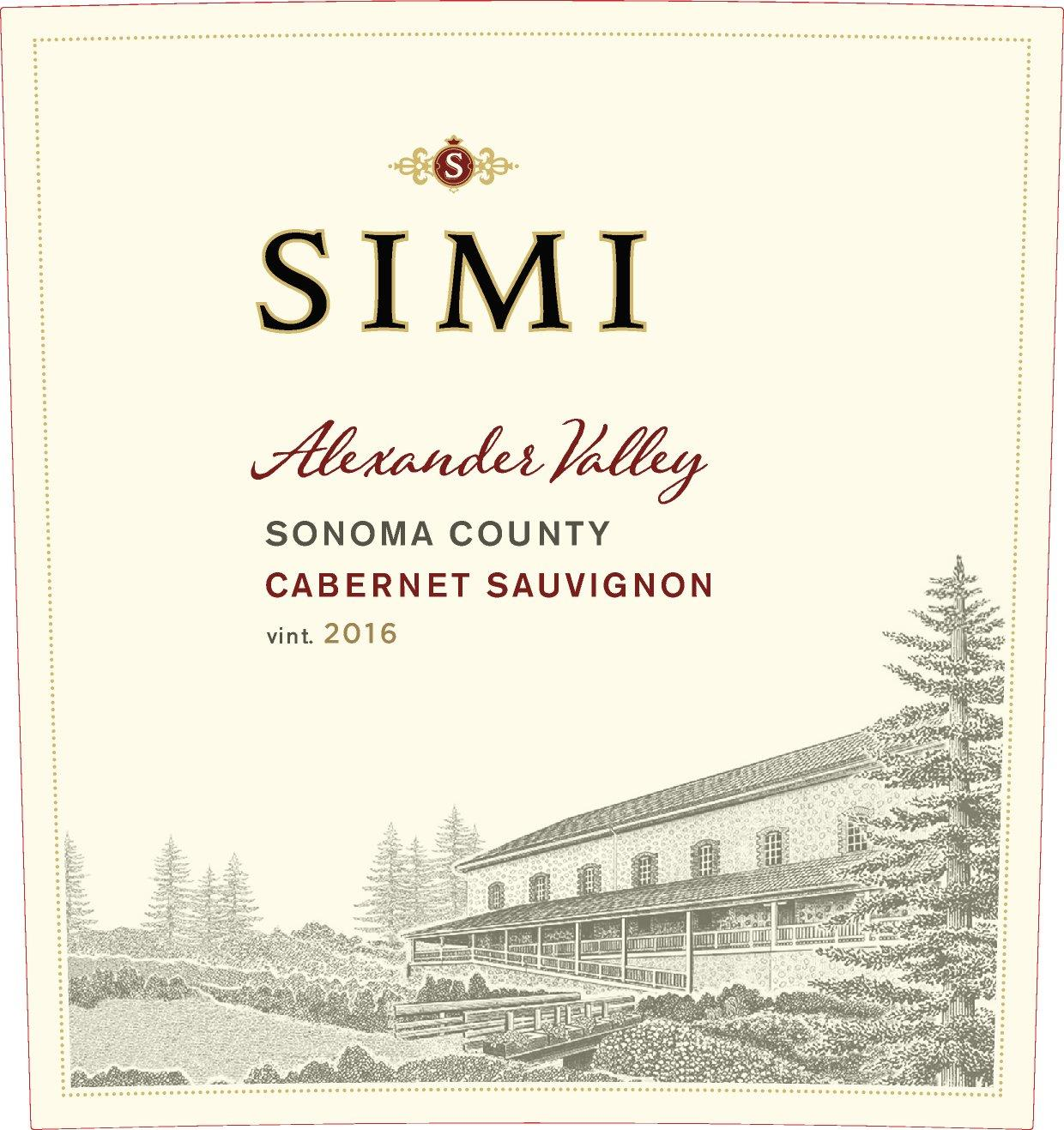 Simi Winery Cabernet Sauvignon Alexander Valley