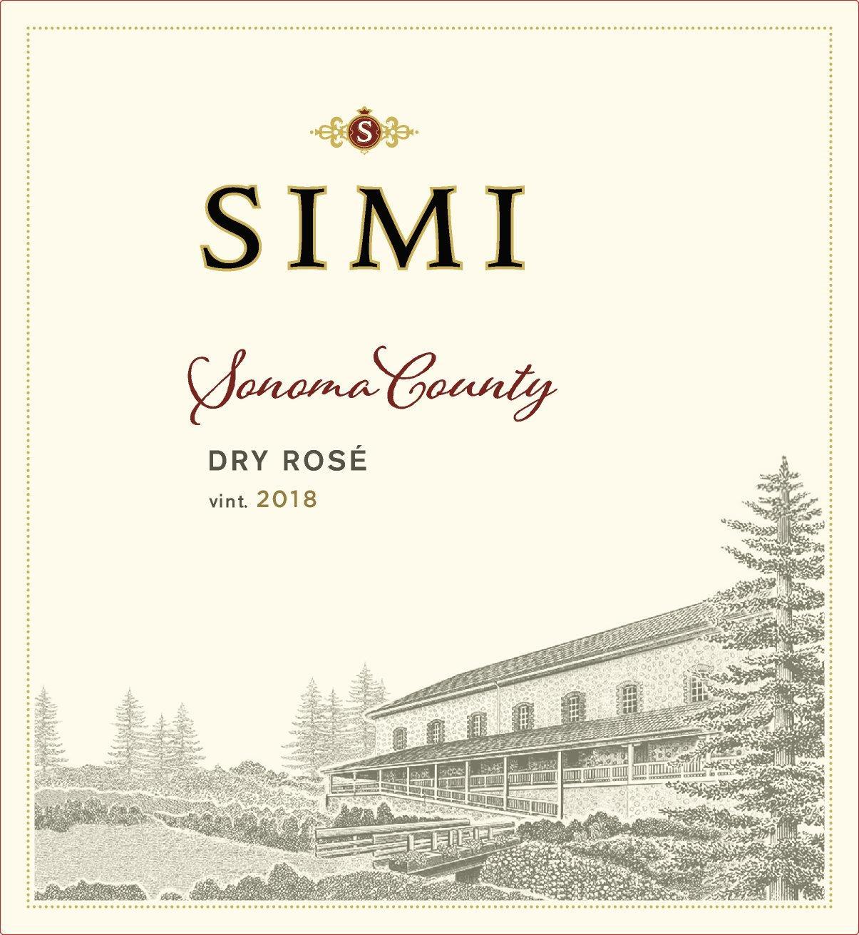Simi Winery Dry Rosé Sonoma County