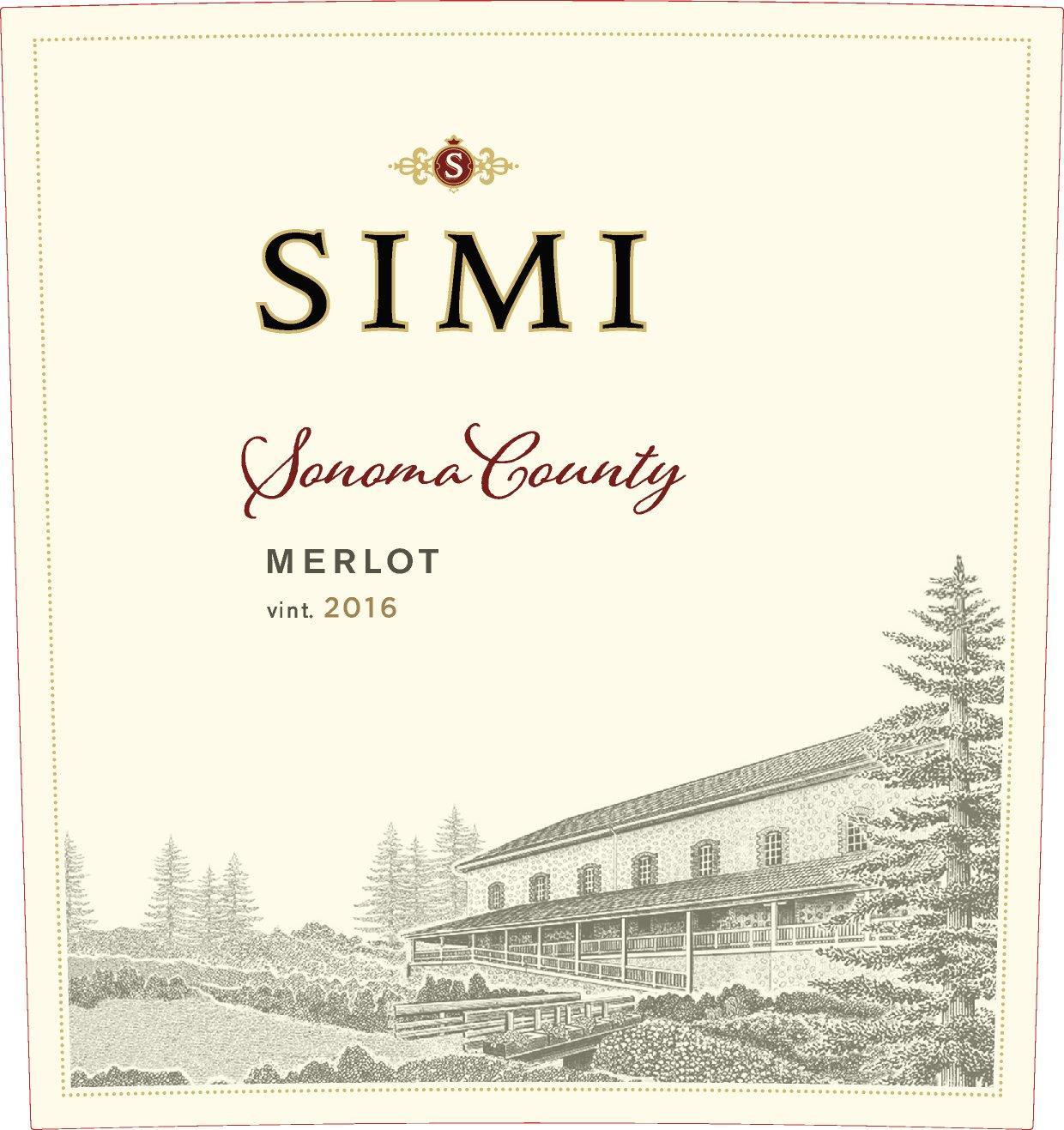 Simi Winery Merlot Sonoma County
