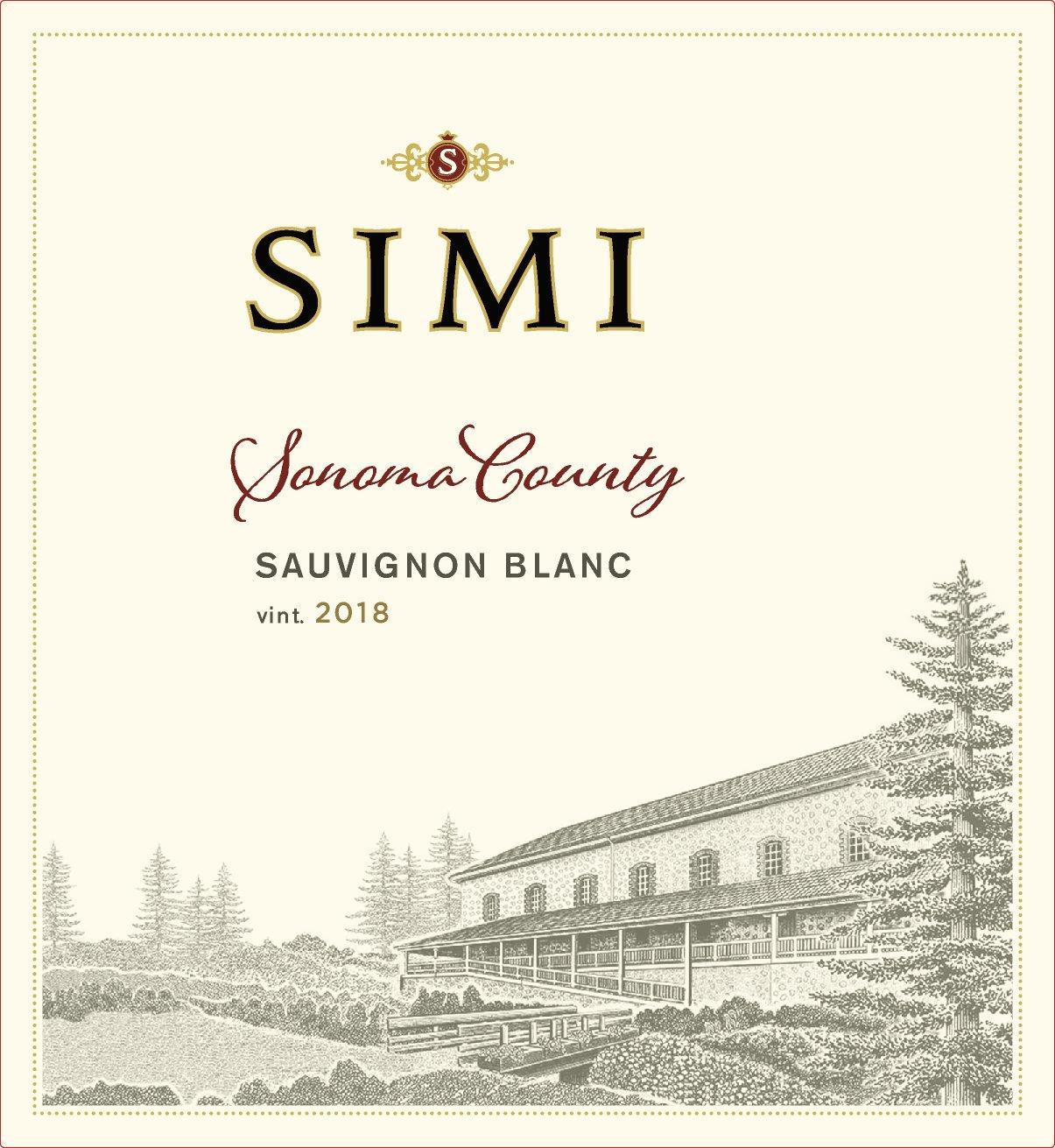 Simi Winery Sauvignon Blanc Sonoma County