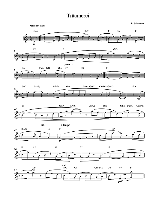 Traumerei Op.15 No.7 Sheet Music