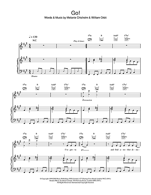 Go! Sheet Music
