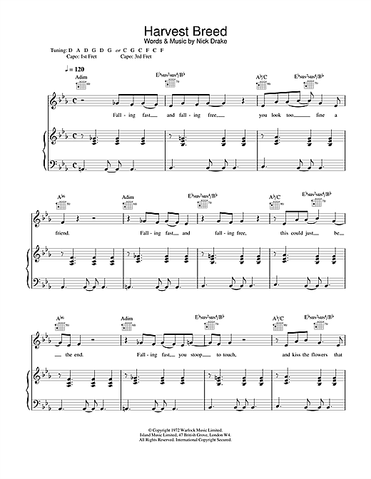 Harvest Breed Sheet Music
