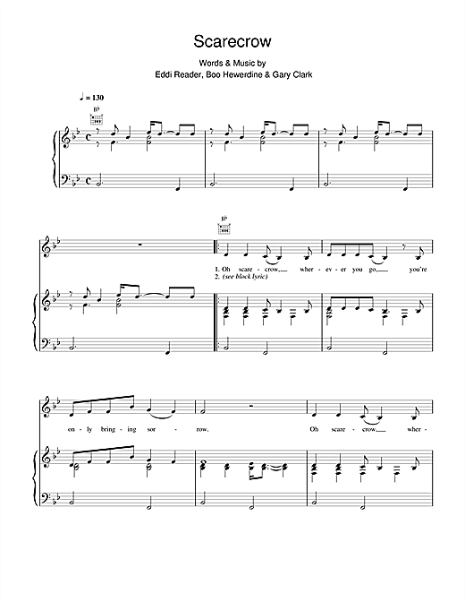 Scarecrow Sheet Music