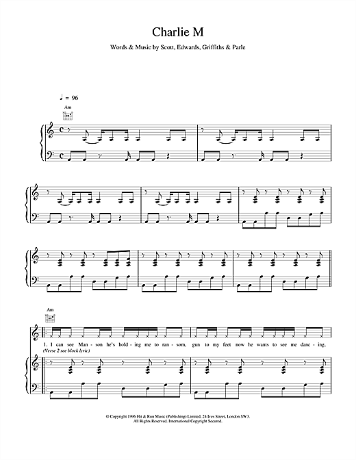 Charlie M Sheet Music