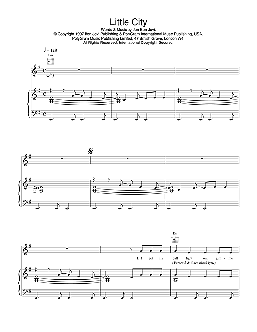 Little City Sheet Music