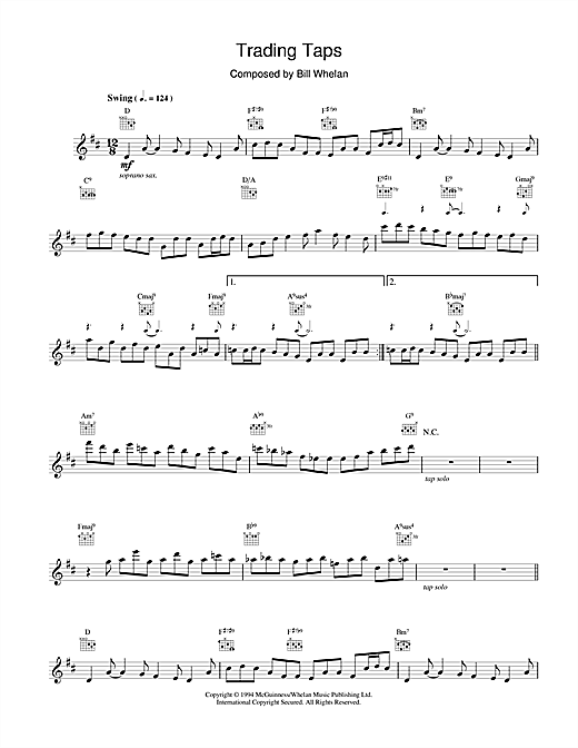 Trading Taps (from Riverdance) Sheet Music