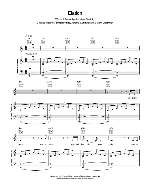 Elation Sheet Music