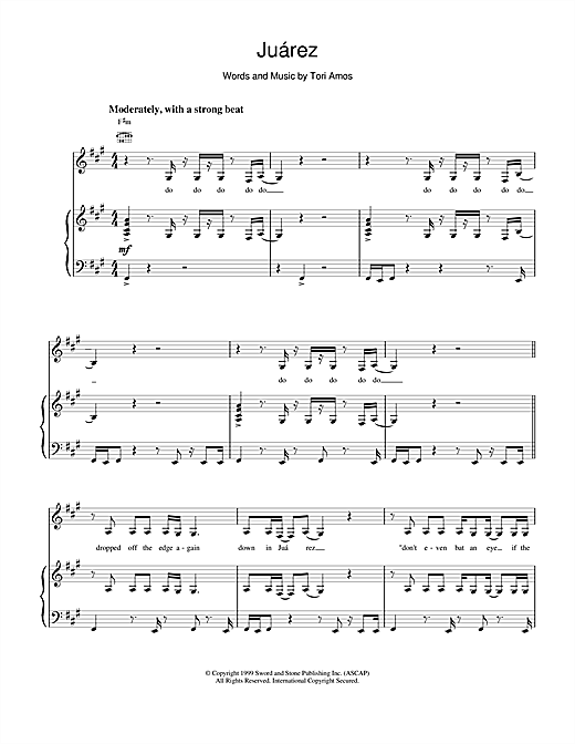 Juarez Sheet Music