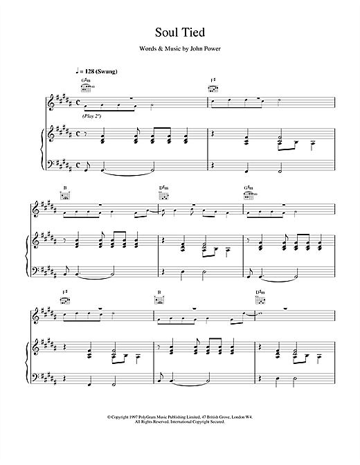 Soul Tied Sheet Music