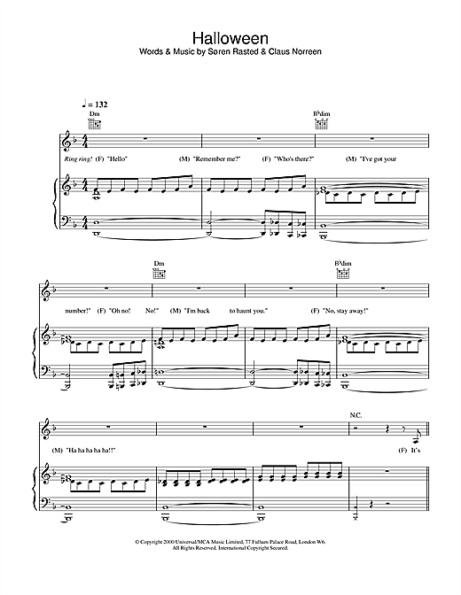 Halloween Sheet Music