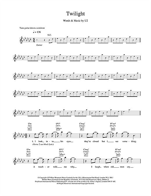 Twilight (Lead Sheet / Fake Book)