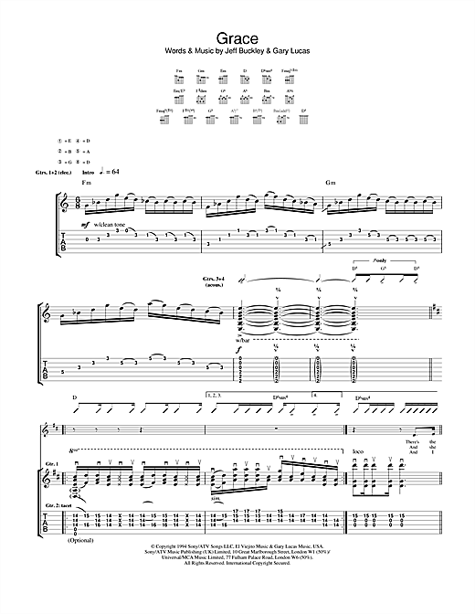 Grace Sheet Music