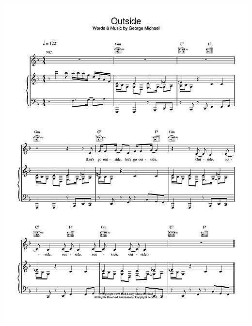 Outside Sheet Music