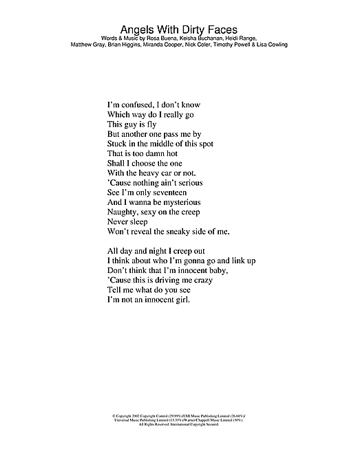 Sum 41- Angels with dirty faces lyrics - YouTube