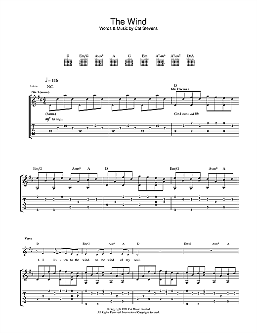 The Wind Sheet Music