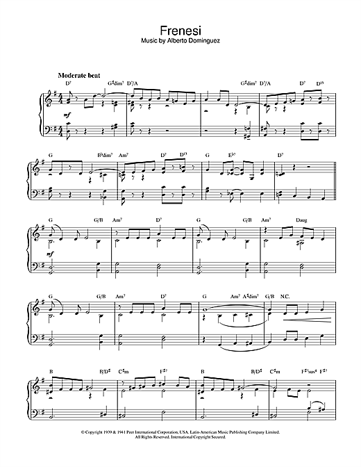 piano sheet music caspx