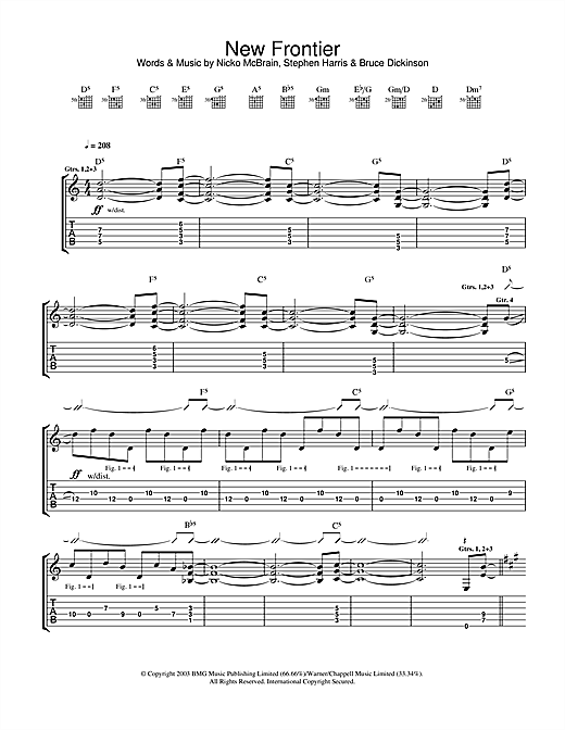 New Frontier Sheet Music