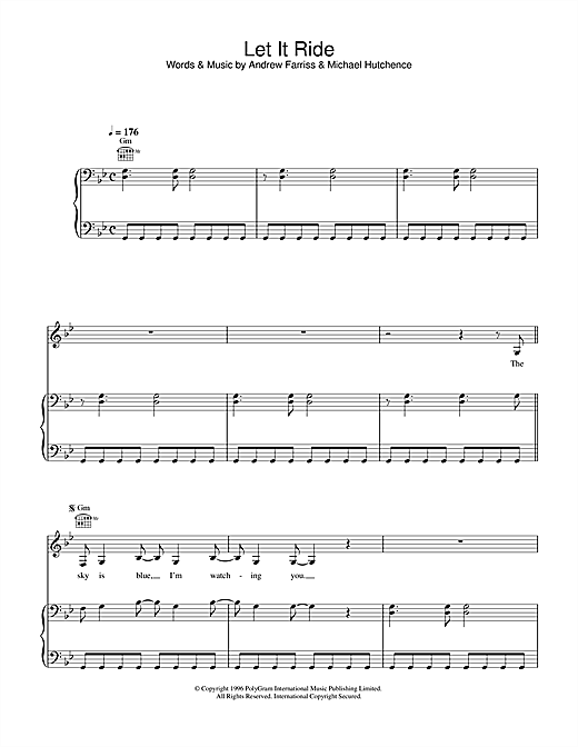 Let It Ride Sheet Music