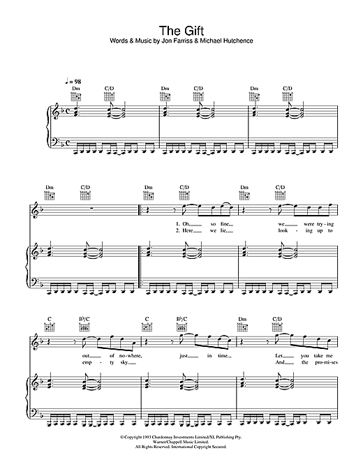 The Gift Sheet Music