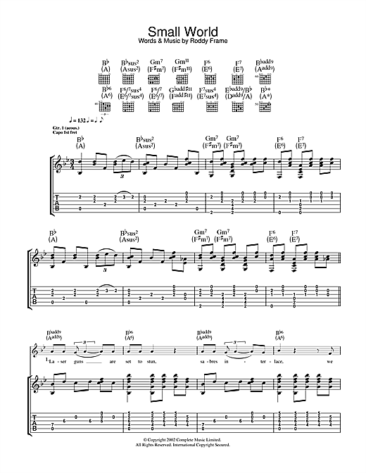 Small World Sheet Music