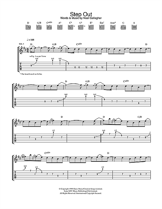Step Out Sheet Music