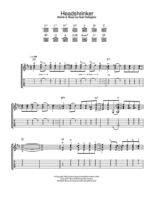 Headshrinker Sheet Music