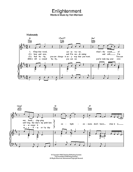 Enlightenment (Piano, Vocal & Guitar (Right-Hand Melody))