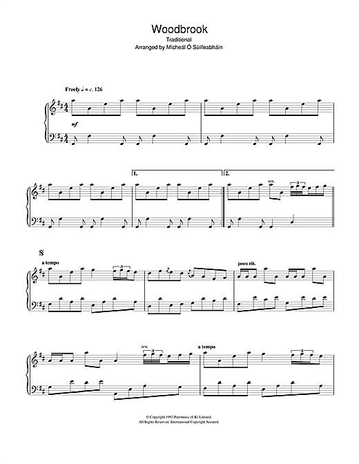 Woodbrook Sheet Music