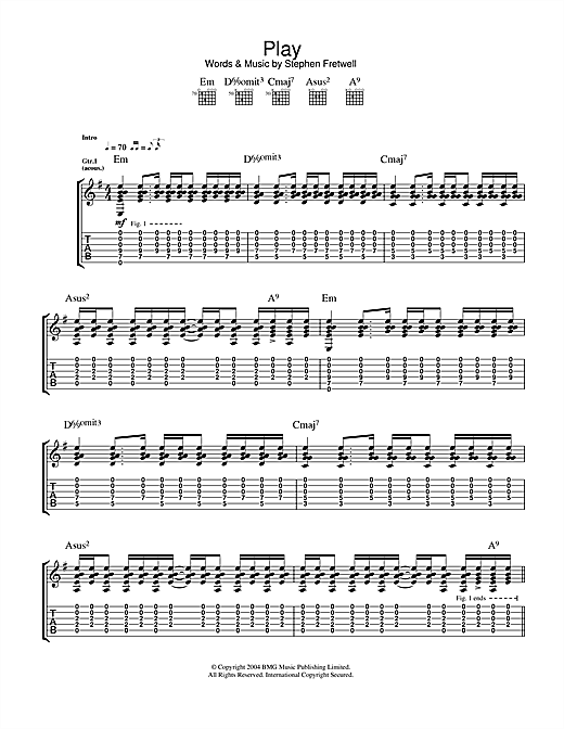Play (Guitar Tab)