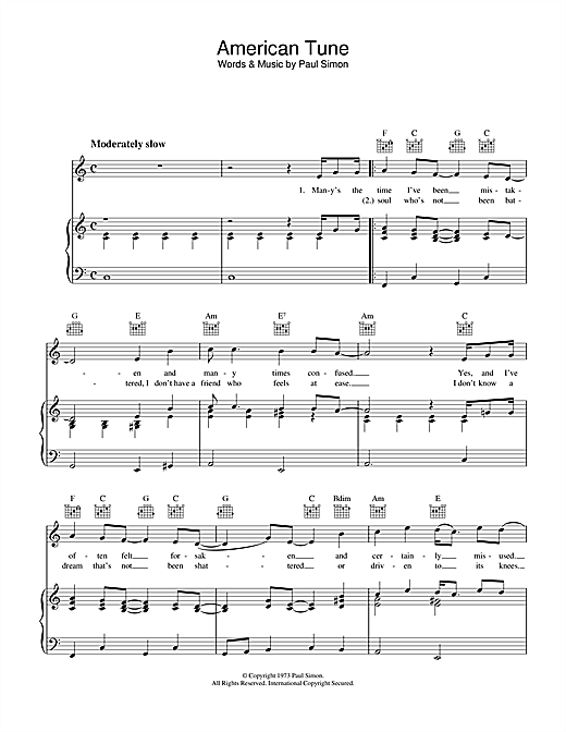 american pie piano sheet music pdf