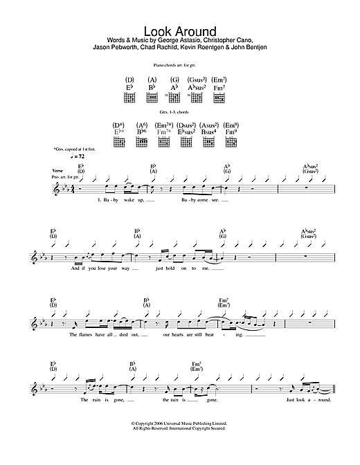 Look Around Sheet Music