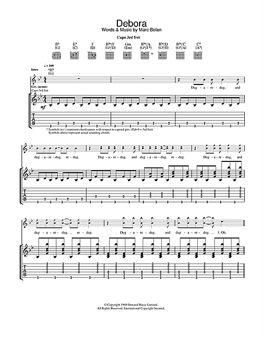 Debora Sheet Music