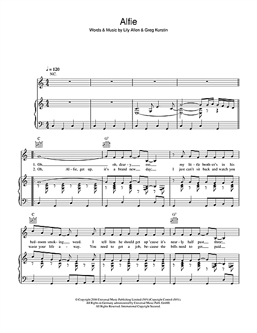 Alfie Sheet Music