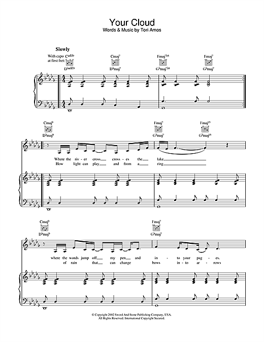 Your Cloud Sheet Music
