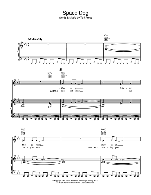 Space Dog Sheet Music
