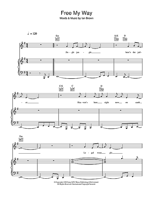Free My Way Sheet Music