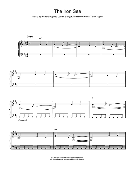 The Iron Sea Sheet Music