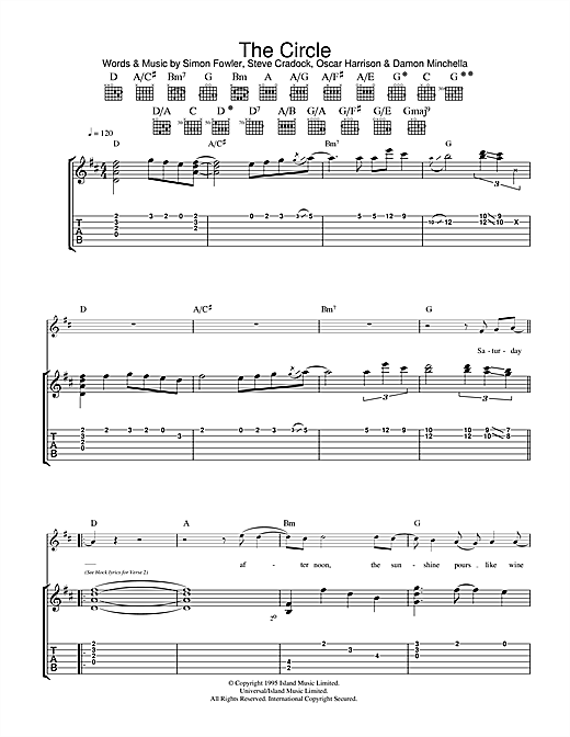 The Circle Sheet Music