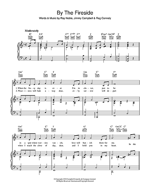 By The Fireside Sheet Music