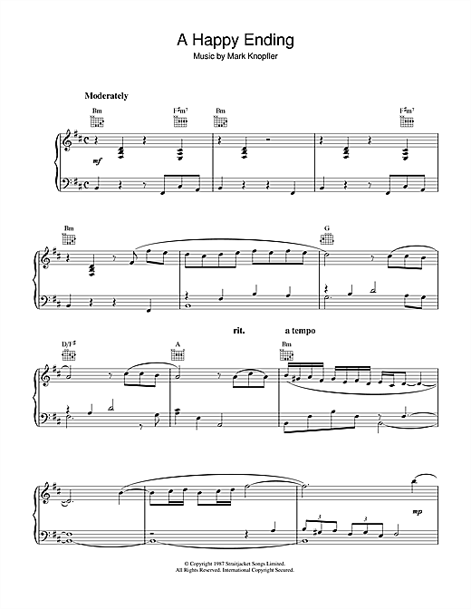 A Happy Ending (from The Princess Bride) Sheet Music
